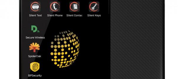 Blackphone mit vorinstallierten Apps