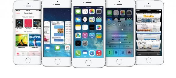 verschiedene Screenshots von iOS7