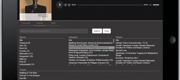 Der Downloaddienst Highresaudio bietet jetzt auch Streaming auf mobile Endgeräte an.